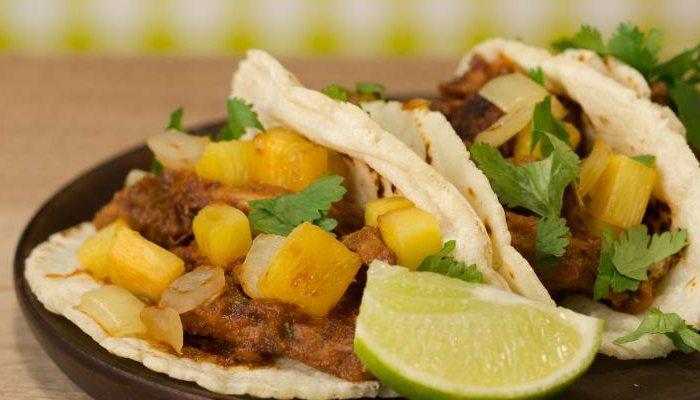 Tacos de Carnita de Ternera